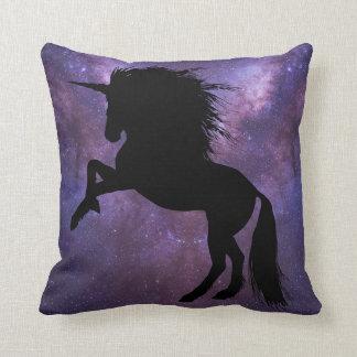 Unicorn Galaxy Throw Pillow