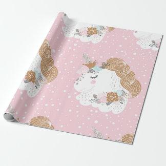 Unicorn gift paper