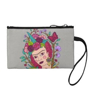 Unicorn girl cosmetic bag