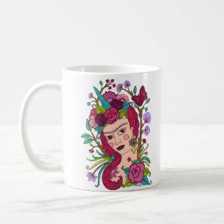 Unicorn girl mug