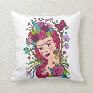 Unicorn girl pillow