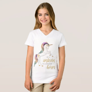 Unicorn Girls Tee