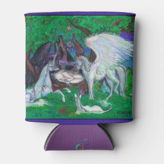 Unicorn Healing Cooling Cover Can Cooler