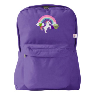 Unicorn & Hearts Backpack