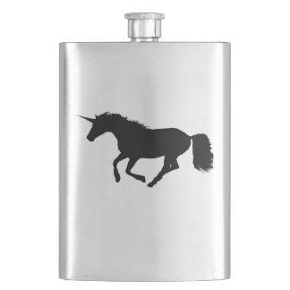 unicorn hip flask