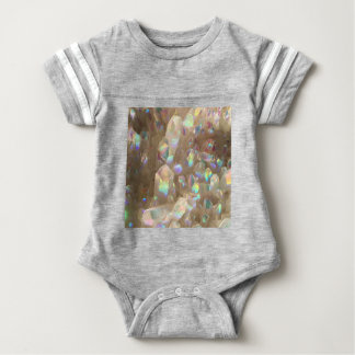 Unicorn Horn Aura Crystals Baby Bodysuit