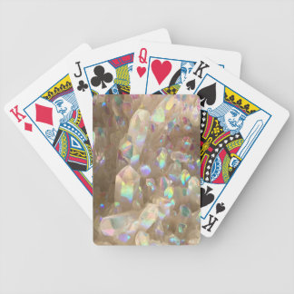 Unicorn Horn Aura Crystals Bicycle Playing Cards