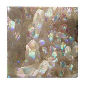 Unicorn Horn Aura Crystals Ceramic Tile