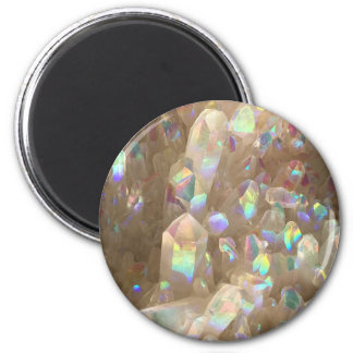 Unicorn Horn Aura Crystals Magnet