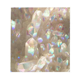Unicorn Horn Aura Crystals Notepad