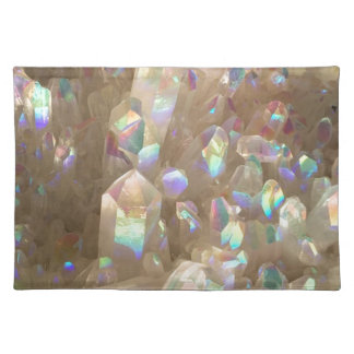 Unicorn Horn Aura Crystals Placemat