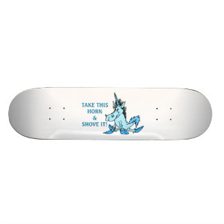 Unicorn Horn Shove It Skate Decks