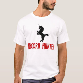 Unicorn Hunter (Black & Red) T-Shirt
