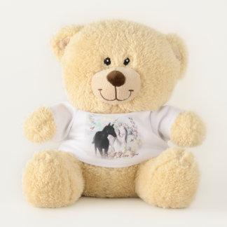 Unicorn I love you teddy bear