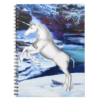 Unicorn in the Snow Notebooks