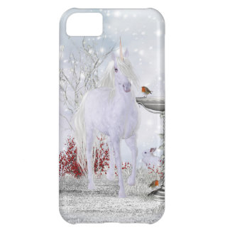 Unicorn iPhone 5 Case With Winter Scenery