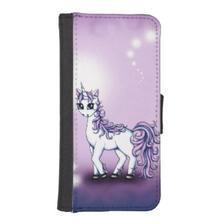 Unicorn iPhone SE/5/5s Wallet Case