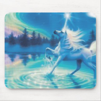 Unicorn Lake Mouse Pad
