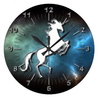 Unicorn Large Clock