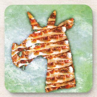 Unicorn Lasagna Coaster