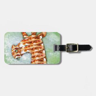 Unicorn Lasagna Luggage Tag