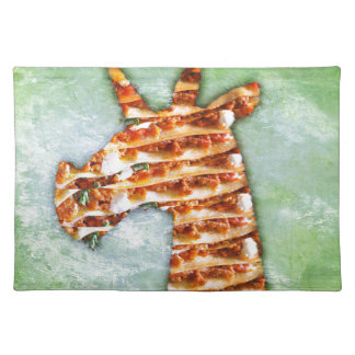 Unicorn Lasagna Placemat
