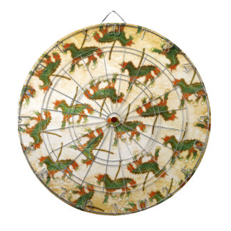 Unicorn Leaf Dartboard