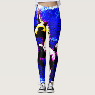 Unicorn Leggings (Punk Cupcake)