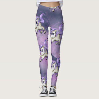 UNICORN LOVE FANTASY CARTOON Leggings