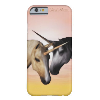 Unicorn Love  iPhone case Barely There iPhone 6 Case