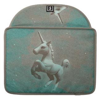 Unicorn Macbook Sleeve (Teal Steel) Sleeve For MacBooks