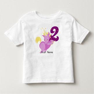 Unicorn Magic 2nd Birthday Toddler T-Shirt
