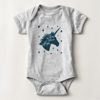 Unicorn Magic Baby Bodysuit