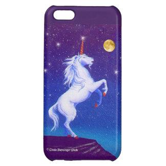 Unicorn Magic Moon and Stars iPhone 5C Case
