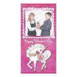 Unicorn Magic Valentine Picture Card