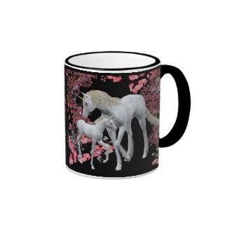 Unicorn Mare And Foal Fantasy Mug