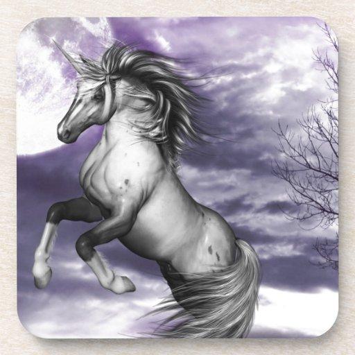Unicorn Moon Drink Coaster