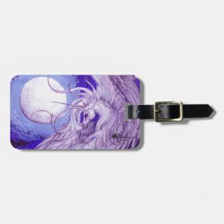 Unicorn Moon Label Luggage Tag
