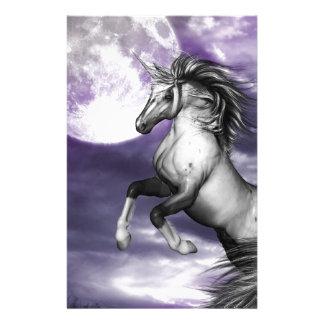 Unicorn Moon Stationery