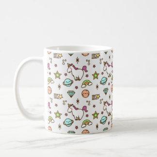 Unicorn Mug, Fairytale magic, sparkle rainbow gift Coffee Mug