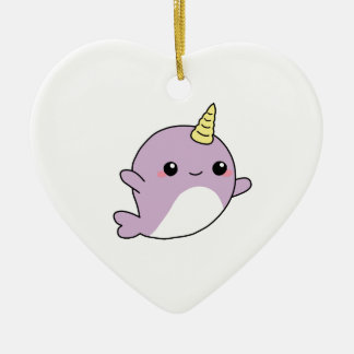 UNICORN NARWHAL shirts, accessories, gifts Ceramic Ornament
