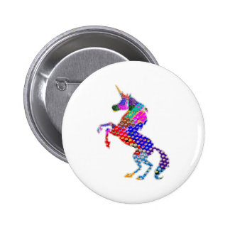 UNICORN   Nature n Dreams 6 Cm Round Badge