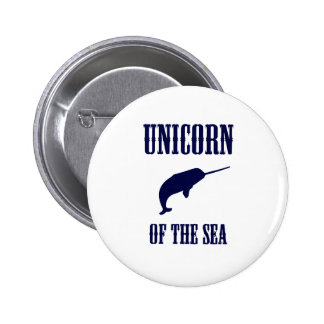 Unicorn of the Sea Narwhal Buttons