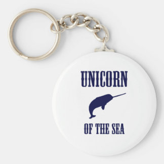 Unicorn of the Sea (Narwhal) Keychains