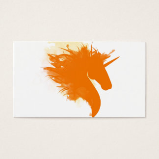 Unicorn on Fire Business Card