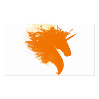 Unicorn on Fire Pack Of Standard Business Cards