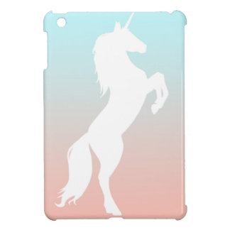 Unicorn on Pastel Cover For The iPad Mini