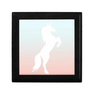 Unicorn on Pastel Gift Box