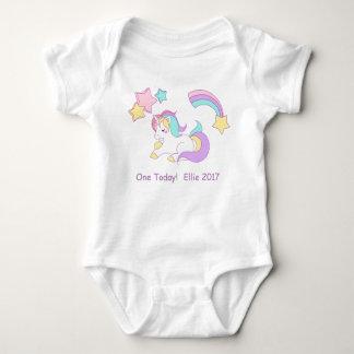 Unicorn One Today Baby Vest Baby Bodysuit