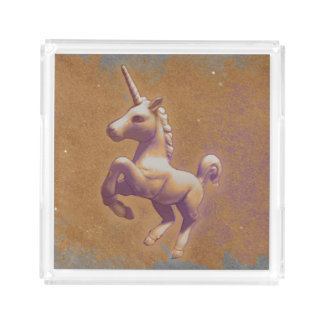 Unicorn Perfume Tray (Metal Lavender)